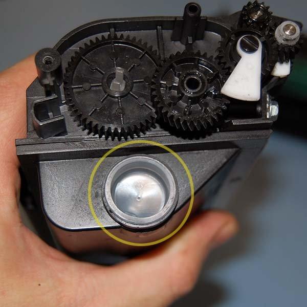 Инструкция по заправке картриджа для Ricoh Aficio SP 3500SF / SP 3510SF