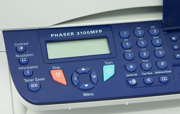 Xerox Phaser 3100 WATING FILE / RECEIVING FILE