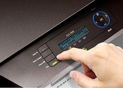 Samsung CLX-3305W прошивка, заправка и качество печати