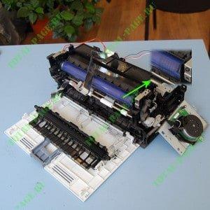 Устранение черный полосы на Xerox 3010 / 3040 / 3045
