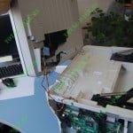 Окончательный демонтаж блока сканера.