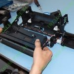 Блок проявки напичкан электроникой под завязку