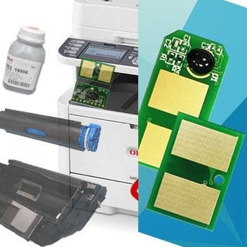 Заправка картриджа для OKI B412 / B432/ B512/ MB472 / MB492 (3к) с заменой чипа