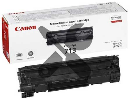 Заправка картриджа Cartridge 713 для Canon i-SENSYS LBP 3250 с заменой чипа