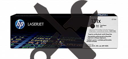 Заправка картриджа CF210X черный ( 131X) для HP LaserJet Pro 200 MFP M276n / M251 с заменой чипа