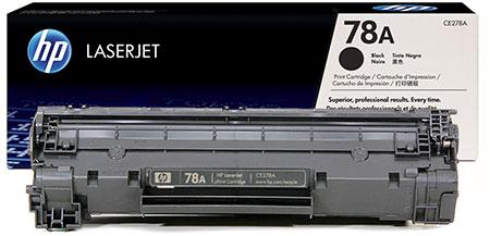 HP Kартридж черный HP 78A LaserJet P1566 /P1606w (2,1K)