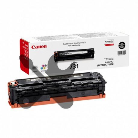 Заправка черного картриджа Canon 731 для i-SENSYS LBP7100Cn / LBP7110Cw с заменой чипа