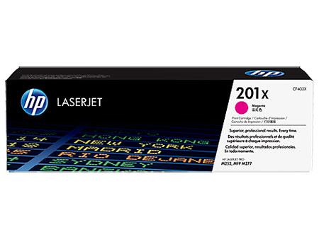 HP Картридж пурпурный 201X HP Color LaserJet Pro M252dw, M277dw, M277n (2.3K)