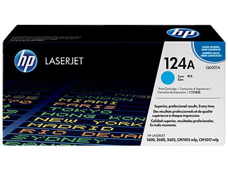 HP Картридж голубой HP Color LaserJet 1600 /2600/ CM1015mfp (124A) (2K)
