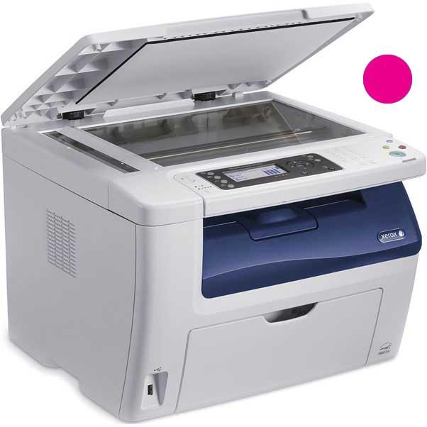 Заправка красного картриджа Xerox Phaser 6020 / 6022 / WC 6025 / 6027 с заменой чипа