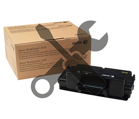 Заправка картриджа  Xerox WC 3325 / WC 3315  с заменой чипа