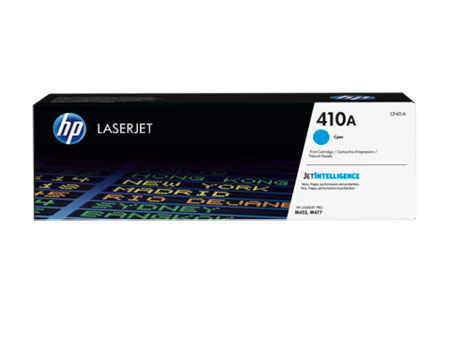 HP Kартридж голубой 410A HP LaserJet Pro M477fdn, M477fdw, M477fnw, M452dn, M452nw (2,3K)
