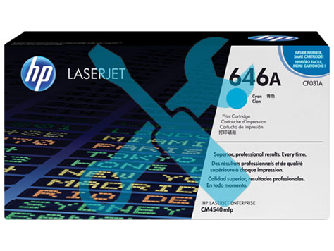 Заправка картриджа CF031A для HP Enterprise CM4540 MFP