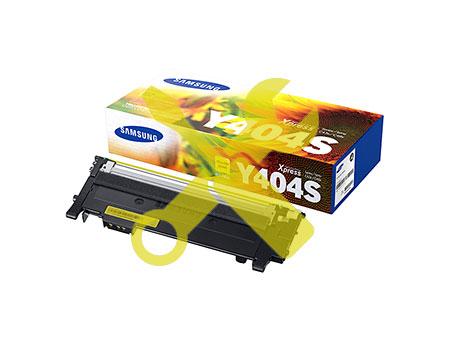 Заправка желтого картриджа Samsung CLT-Y404S для Xpress C430 / С480 (1K) с заменой чипа