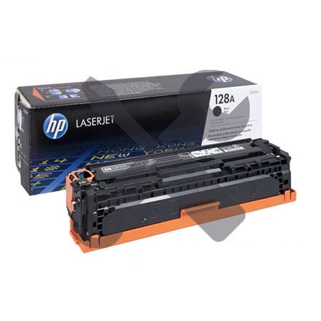 Заправка картриджа HP 128A (CE320A) черный для HP Color LaserJet Pro CP1525 / CM1415 с заменой чипа