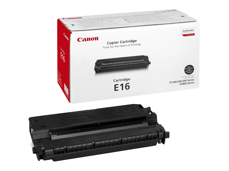 Canon Картридж E-16 для Canon FC-100 /108 /120 /128 /200 /210/ 220/ 230/ 330/ 336/ 530, PC740/ 750/ 760/ 770/ 781 (2K)