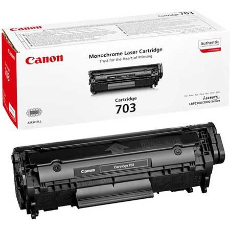 Canon Картридж черный оригинал (2К) [703 ] для Canon LBP2900 / LBP3000