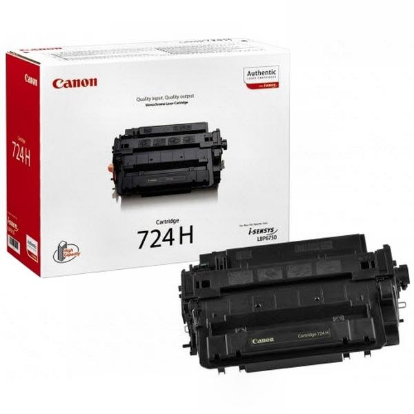 Canon Тонер-картридж 724 H для Canon LBP 6750/6780 (12500 стр.)