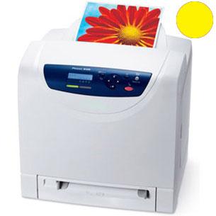 Заправка желтого картриджа Xerox Phaser 6125 с заменой чипа