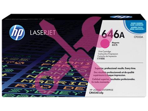Заправка картриджа CF033A для HP Enterprise CM4540 MFP