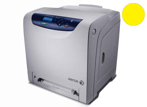 Заправка желтого картриджа   Xerox Phaser 6140 с заменой чипа