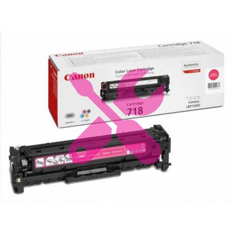 Заправка картриджа Canon 718 красный для i-SENSYS LBP7200Cdn / MF8330 / MF8350 /  MF8380 / MF8360 / MF8340 / LBP7680 / LBP7660Cdn / LBP7210Cdn / MF8540Cdn с заменой чипа