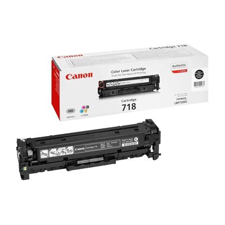 Canon Картридж черный оригинал (3,4К) [718 Bk] для Canon SENSYS MF-8330 / 8350