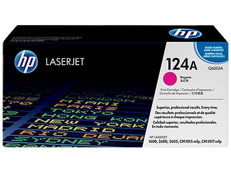 HP Картридж пурпурный HP Color LaserJet 1600 /2600/ CM1015mfp (124A) (2K)