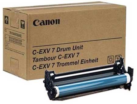 Canon Барабан черный оригинал (24K) [C-EXV 7] для Canon iR1210 / 1230 / 1270 / 1510 / 1530 / 1570