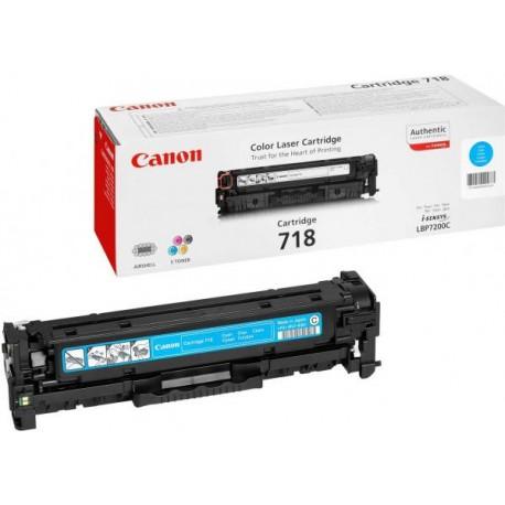 Canon Картридж голубой оригинал (2,9К) [718 C] для Canon SENSYS MF-8330 / 8350