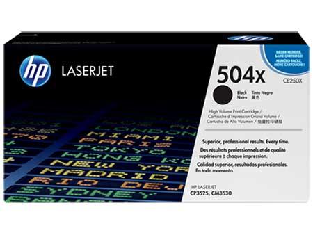 HP Картридж черный HP Color LaserJet CP3525/CM3530 (10,5К)