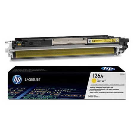 HP Kартридж желтый HP LaserJet Pro CP1025/CP1025NW