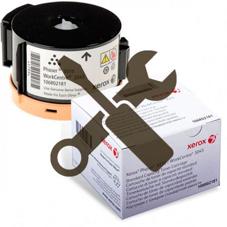 Заправка картриджа Xerox Phaser 3010 / 3040 / WC 3045 с заменой чипа