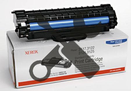 Заправка картриджа XEROX Phaser 3117/ 3122 /3124/ 3125  (3К)  с заменой чипа