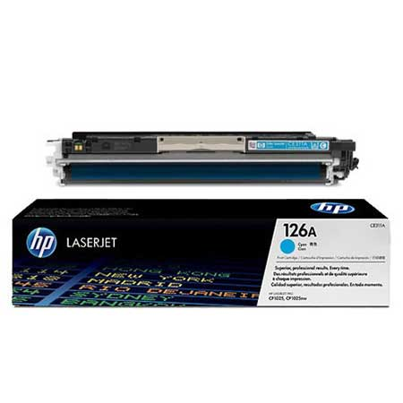HP Kартридж голубой HP LaserJet Pro CP1025/CP1025NW