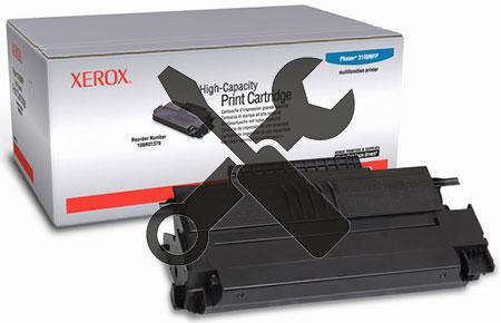 Заправка XEROX Phaser 3100MFP с установкой смарт-карты