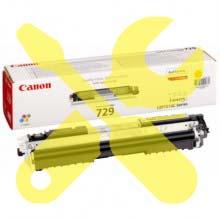 Заправка желтого картриджа Canon 729 для i-SENSYS LBP7018 / LBP7010 с заменой чипа
