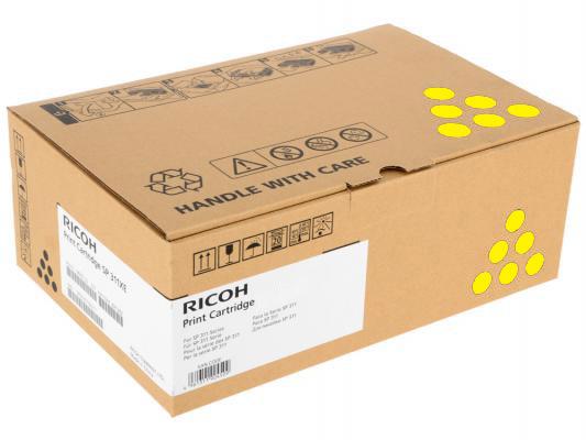 Ricoh Ricoh Принт-картридж высокой емкости, желтый, тип SPC252HE 6000стр. для SPC252DN / C252SF