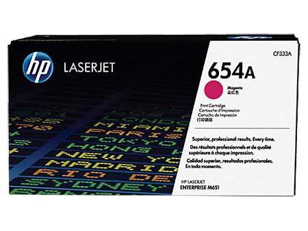 HP Kартридж пурпурный  654A (CF333A)  HP Color LaserJet Enterprise M651n/ M651dn/ M651xh/ M680dn (15K) ориг.