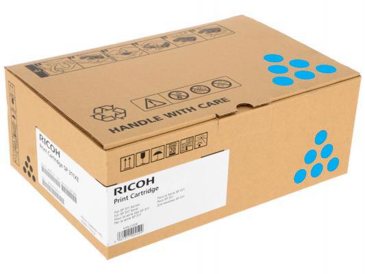 Ricoh Ricoh Принт-картридж высокой емкости, голубой, тип SPC252HE 6000стр. для SPC252DN / C252SF