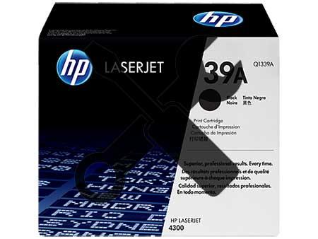 Заправка картриджа Q1339A для HP LaserJet 4300 с заменой чипа