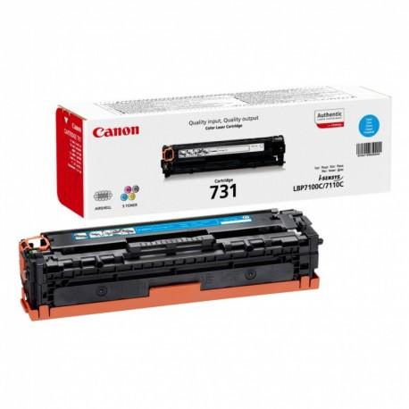 Canon Картридж голубой оригинал (1,5К) [731 C] для Canon LBP7100Cn / 7110Cw / MF8230Cn / 8280Cw