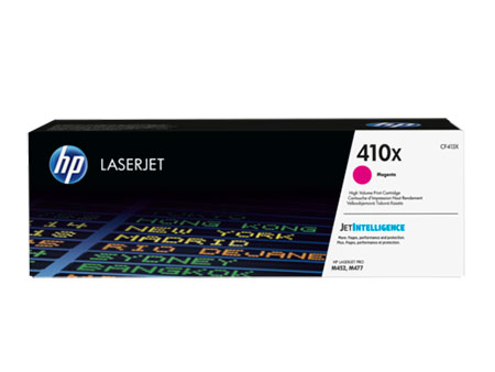 HP Kартридж пурпурный 410X HP LaserJet Pro M477fdn, M477fdw, M477fnw, M452dn, M452nw (5,0K)