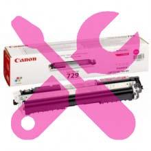 Заправка красного картриджа Canon 729 для i-SENSYS LBP7018 / LBP7010 с заменой чипа