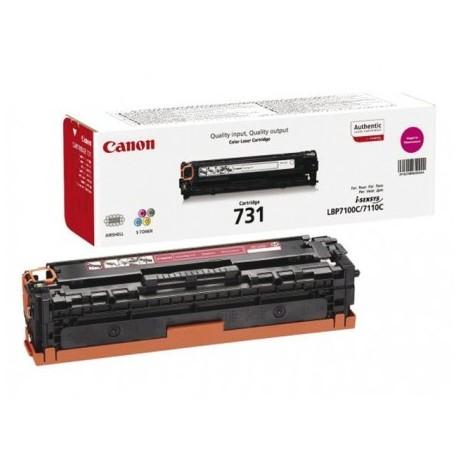 Canon Картридж пурпурный оригинал (1,5К) [731 M] для Canon LBP7100Cn / 7110Cw / MF8230Cn / 8280Cw
