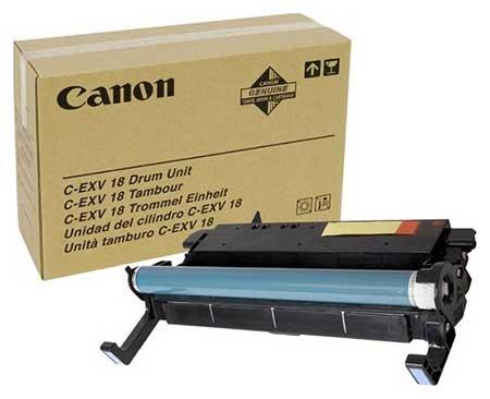 Canon Барабан черный оригинал (26,9К) [C-EXV 18] для Canon iR 1018 / 1020
