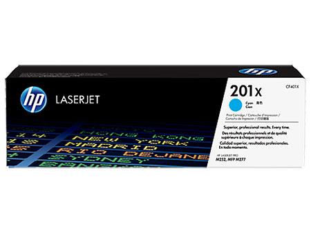 HP Картридж синий 201X HP Color LaserJet Pro M252dw, M277dw, M277n (2.3K)