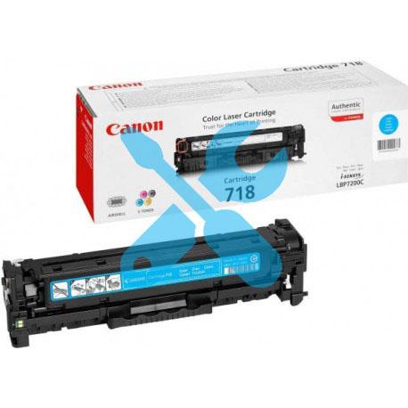 Заправка картриджа Canon 718 синий для i-SENSYS LBP7200Cdn / MF8330 / MF8350 / MF8380 / MF8360 / MF8340 / LBP7680 / LBP7660Cdn / LBP7210Cdn / MF8540Cdn с заменой чипа