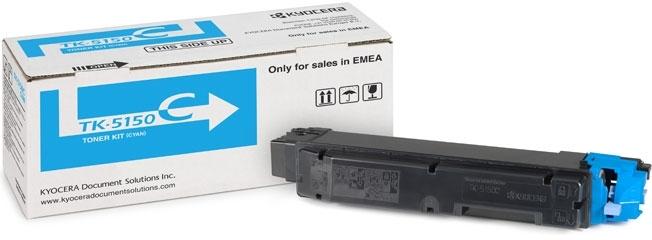 Заправка картриджа Kyocera TK-5150C для  ECOSYS M6535/ P6035cdn с заменой чипа
