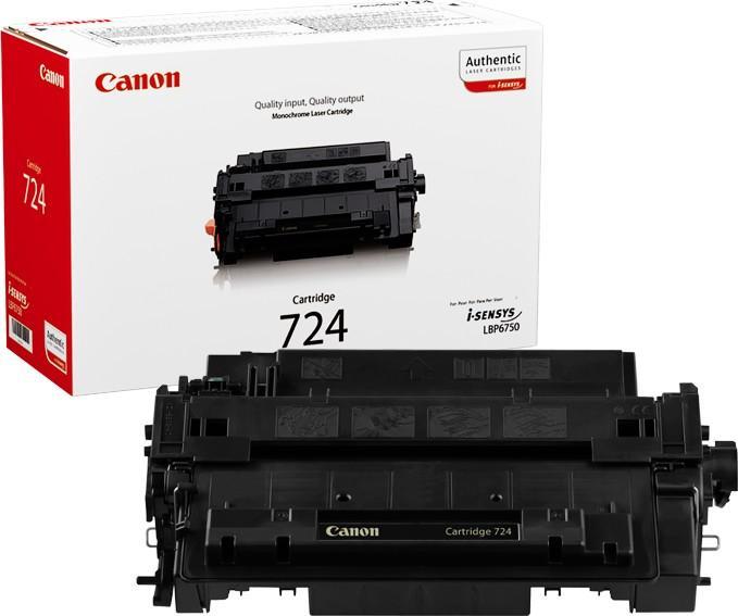Canon Тонер-картридж 724 для Canon LBP 6750/6780 (6000 стр.)